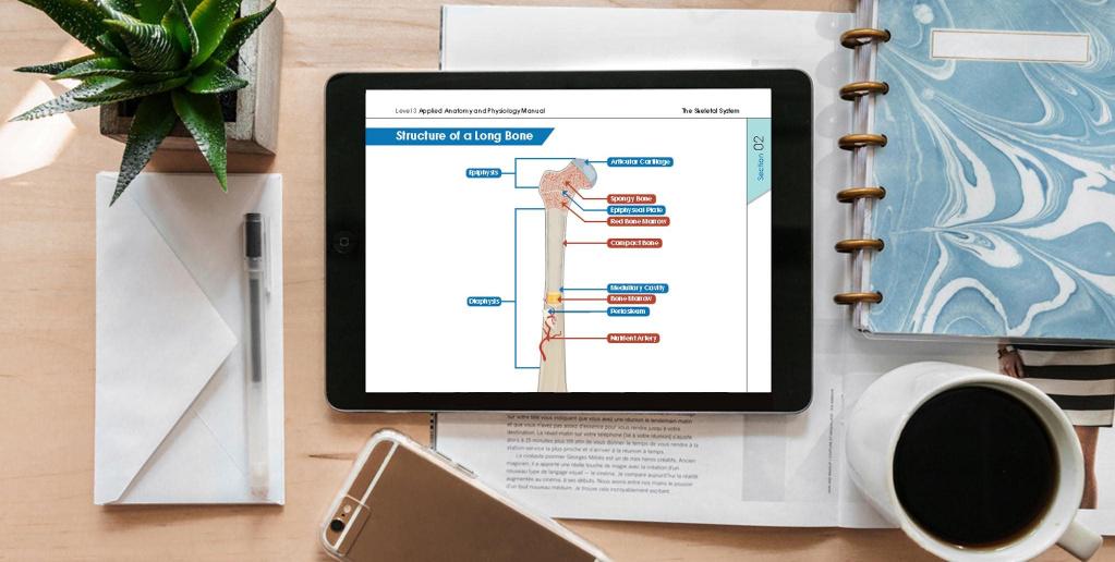 Digital training materials