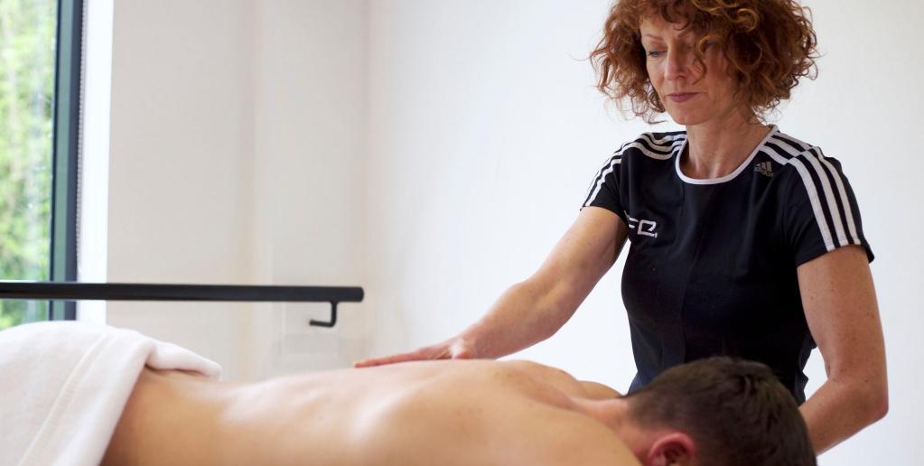 Sports massage tutor