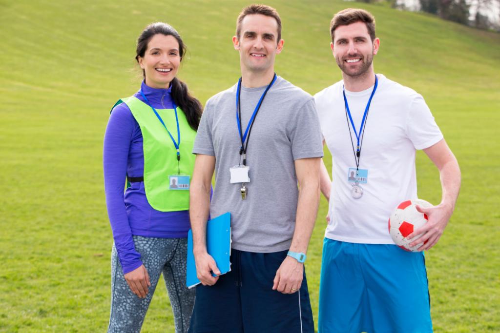 Sports nutrition coach team